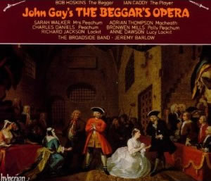 from Trace the beggars opera john gay